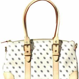 Dooney & BourkeWhite Domed Satchel Handbag